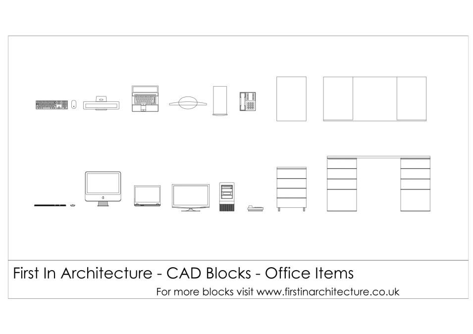 fia-cad-blocks-office-items