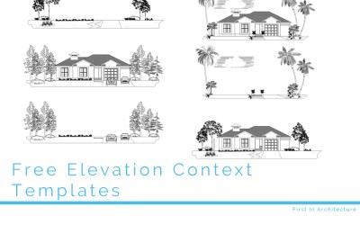 Free CAD Blocks – Elevation Context