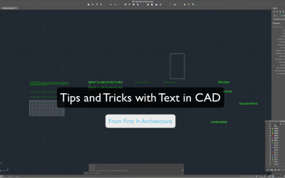 Quick CAD Tips – Text Tricks