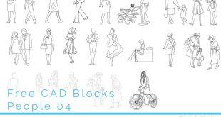 FIA CAD Blocks People 04 FI