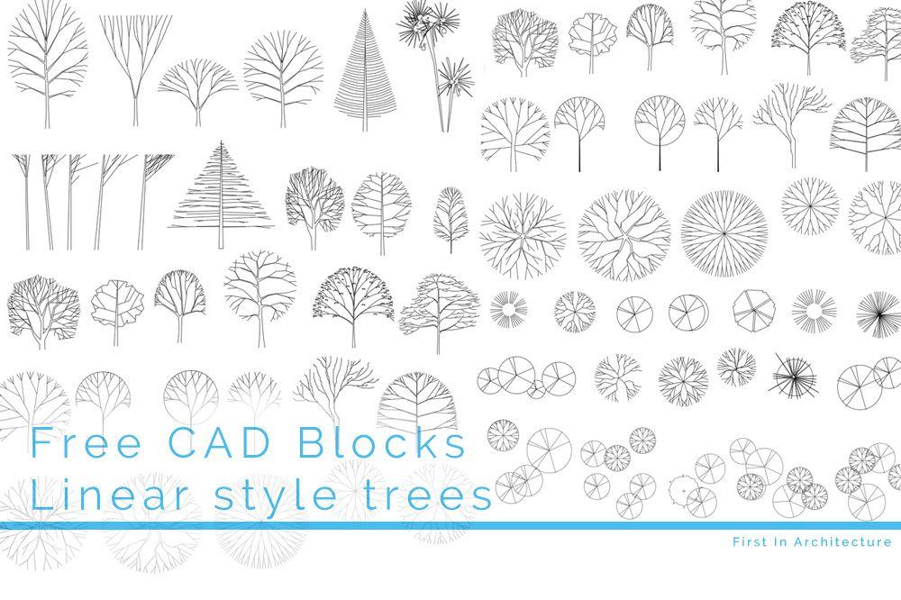 FIA CAD Blocks Trees 09 FI