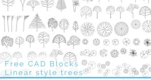 FIA CAD Blocks Trees 09 FI