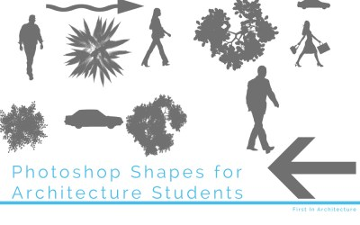 Top Photoshop Shapes for Architecture Students