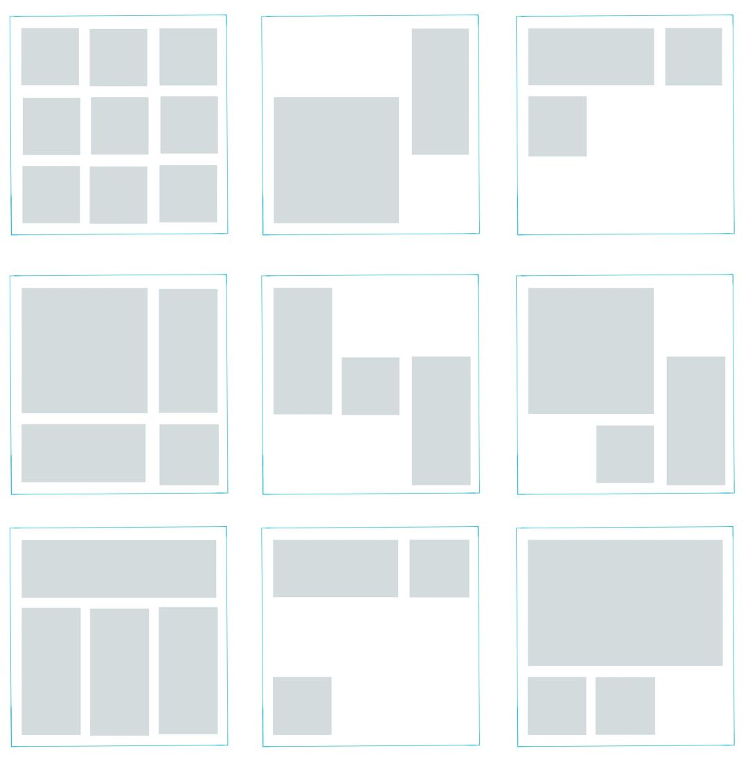 Architecture Presentation Board layouts