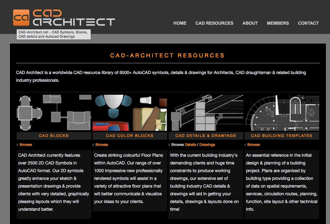 Save  sc 1 st  First in Architecture & Top 10 Free AutoCAD Block Websites | First In Architecture azcodes.com