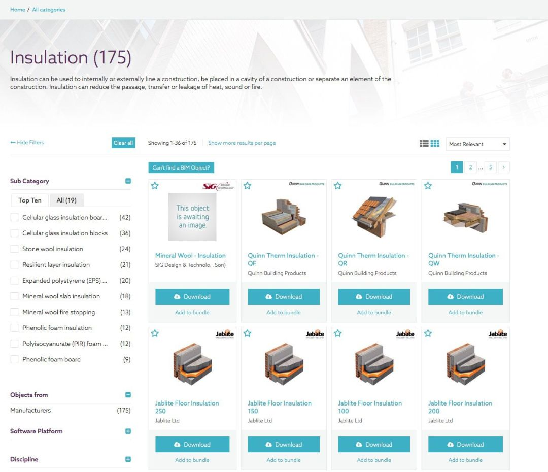 Our Best BIM Objects Sites