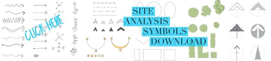 Site Analysis symbols