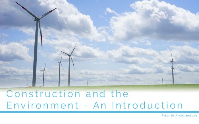 Construction and the Environment