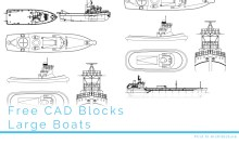 Free CAD Blocks - Car Parking Symbols