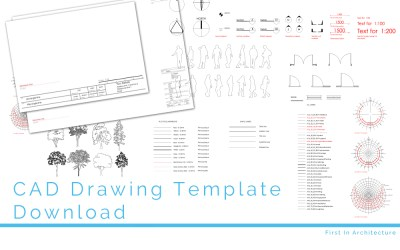 CAD Drawing Template Download