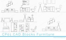 Free CAD Blocks – Chairs in Plan for free download