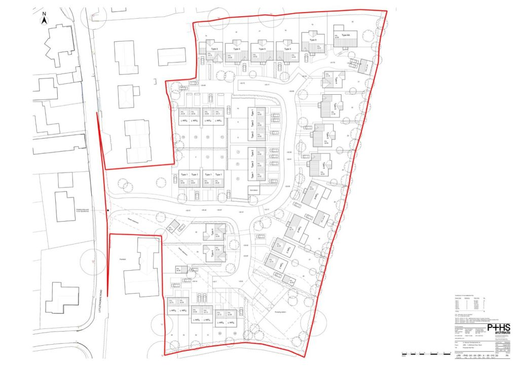 Site Plan Example 01