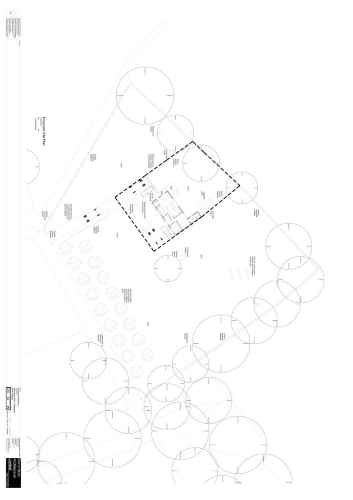 Architectural Site Plan example 02