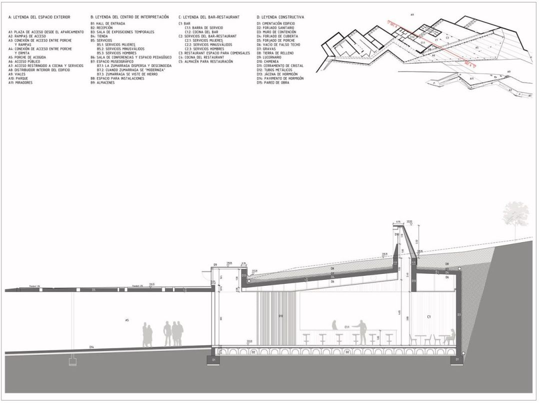construction drawing section4