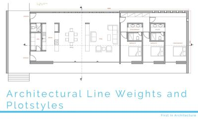 Architectural Line Weights and Plotstyles