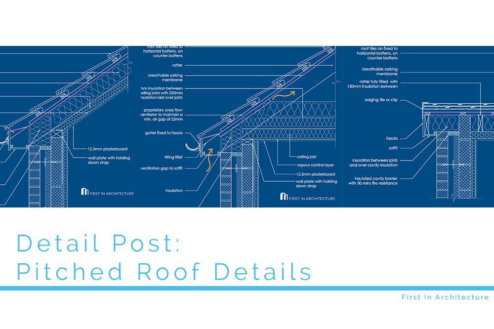 Detail Post Pitched Roof Details First In Architecture
