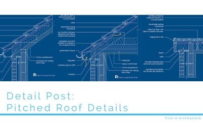 Detail Post: Pitched Roof Details