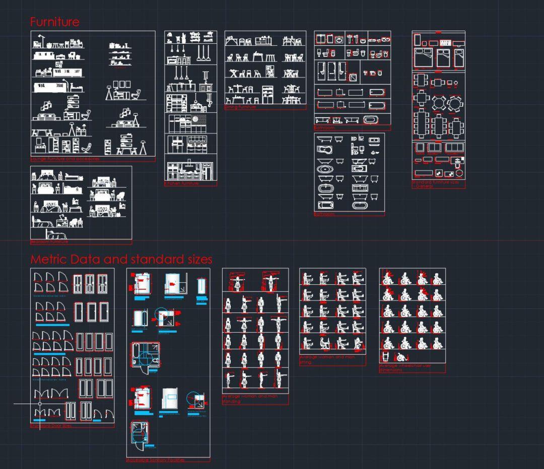 Full CAD block set 2