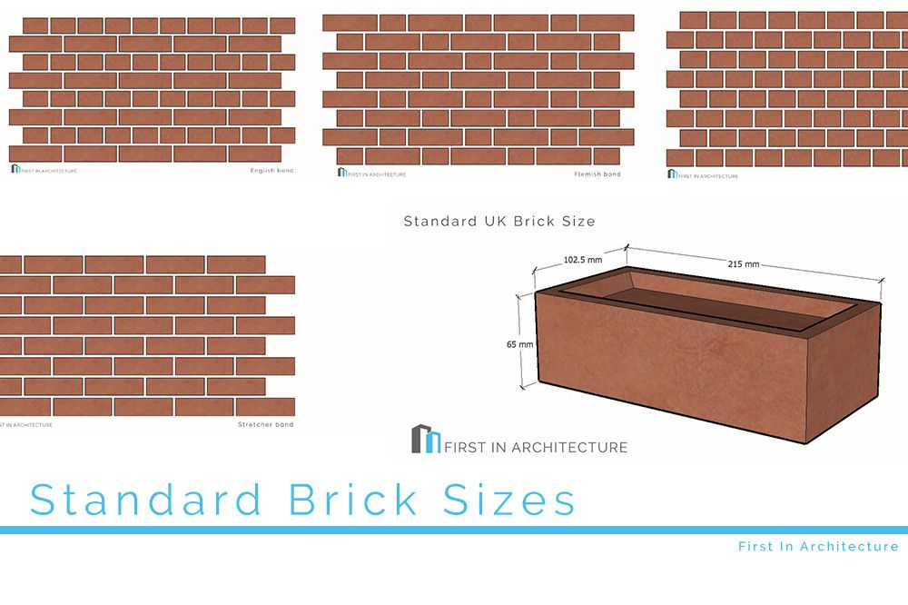 Standard Brick Sizes and Dimensions- First In Architecture