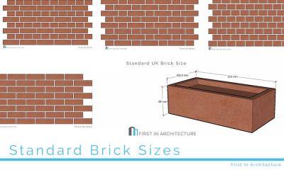 Standard Brick Sizes
