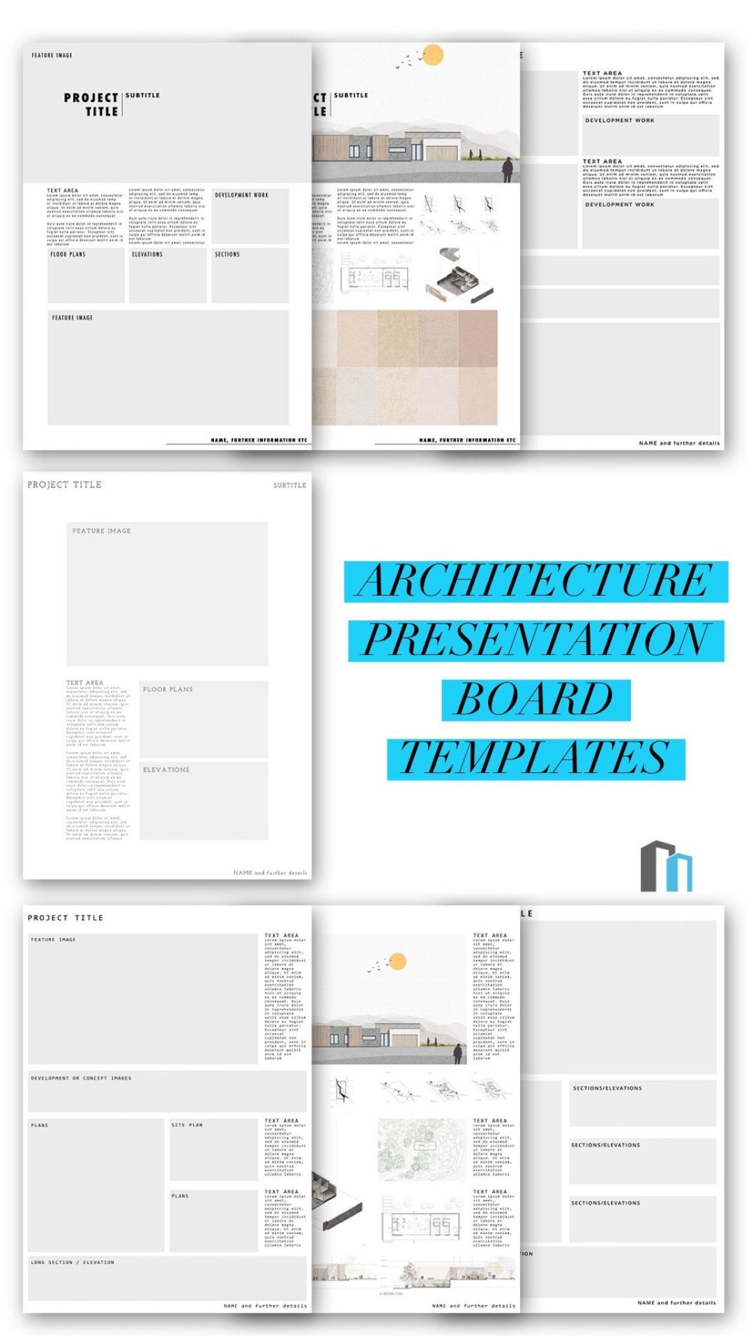 Architecture Presentation Board Templates 2