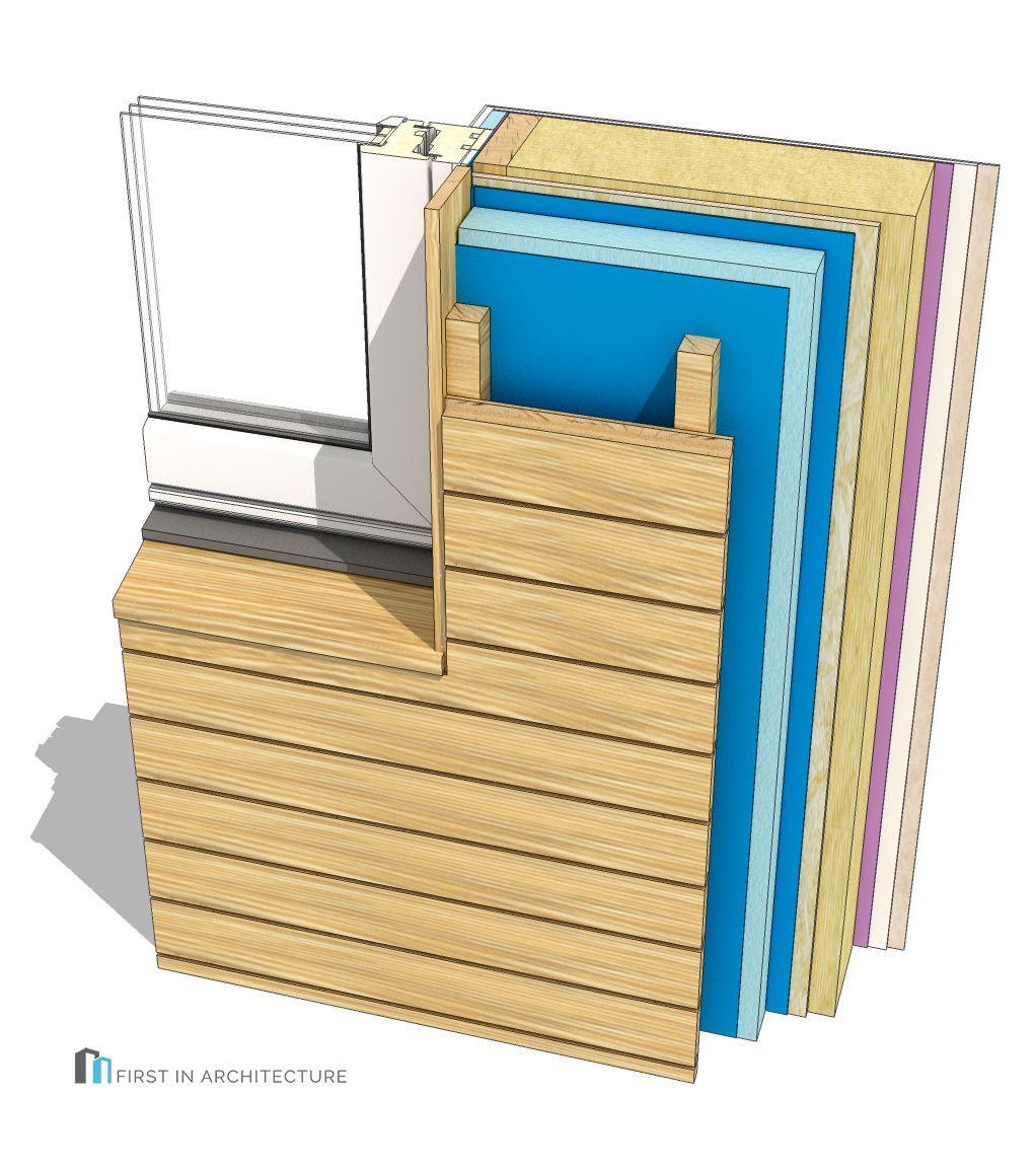 Timber Frame Window Detail