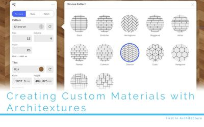 Creating Custom Materials with Architextures