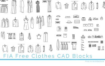 Free Clothes CAD Blocks