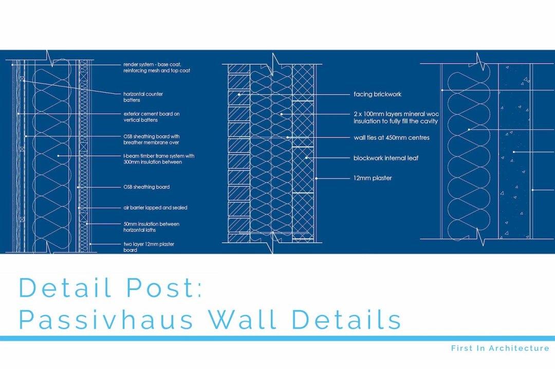 Passivhaus wall details FI