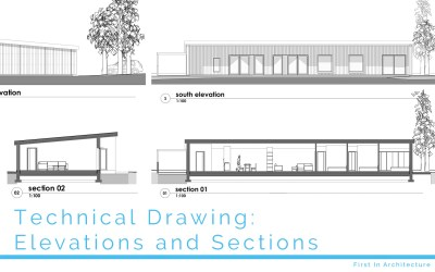 Technical Drawing: Elevations and Sections