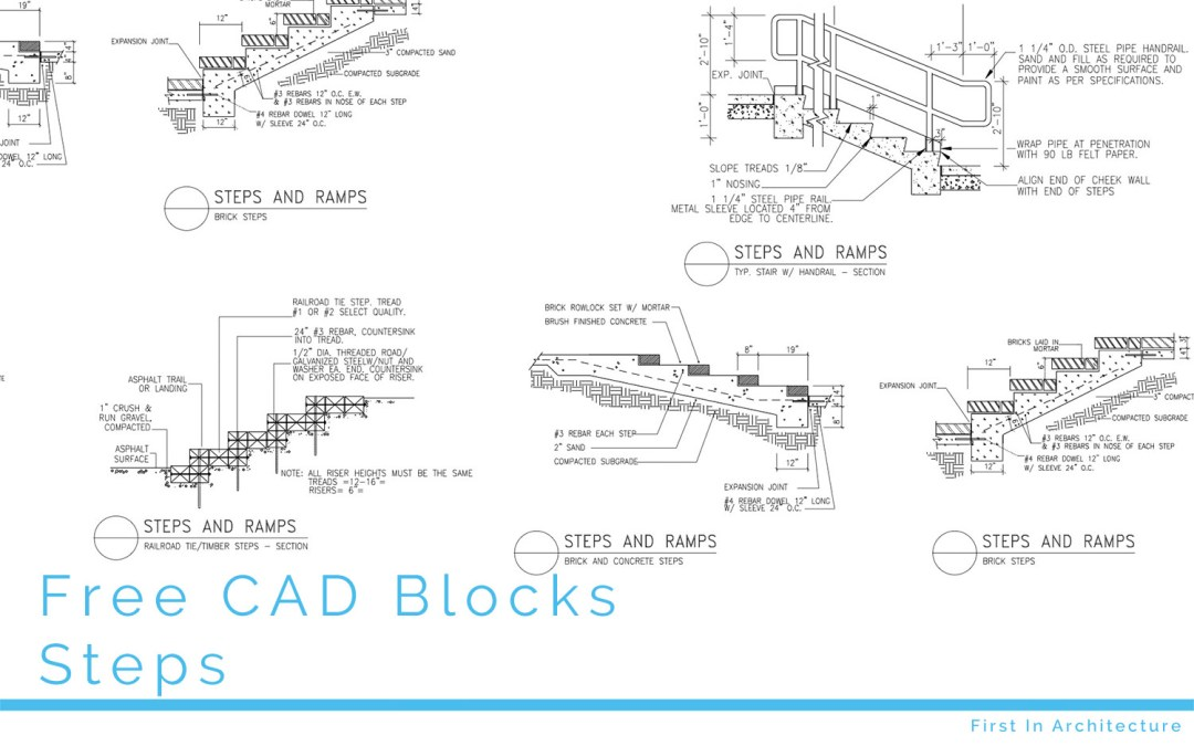 FIA Free CAD Blocks Steps