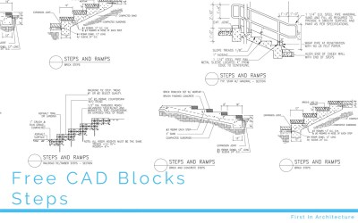 FIA Free CAD Blocks Steps