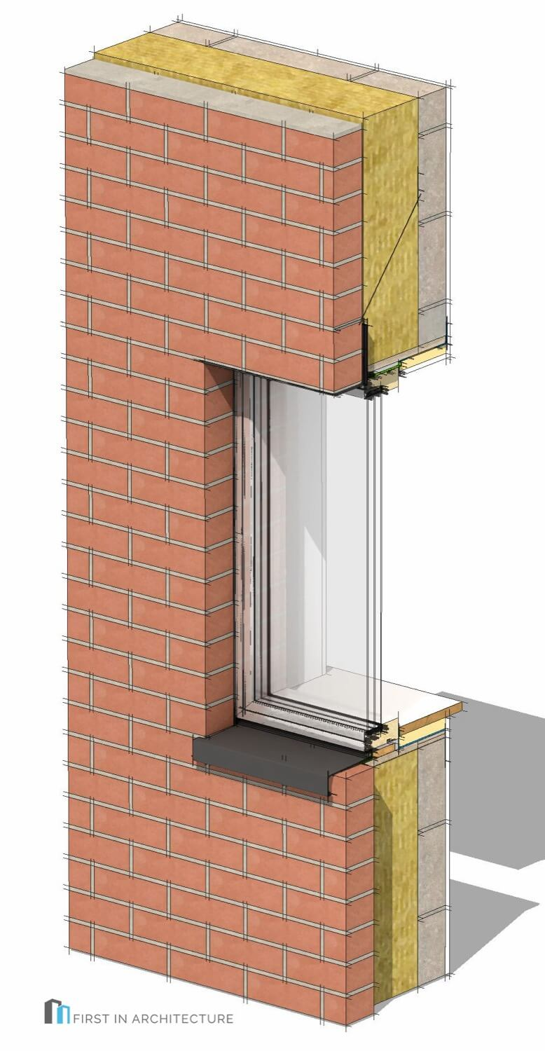 Passivhaus Window Details 3D M29