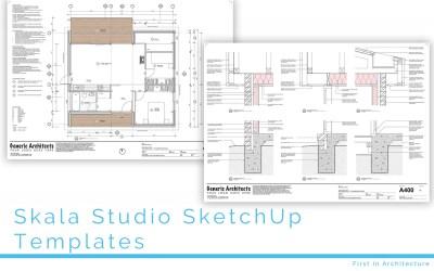 Skala Studio SketchUp Templates