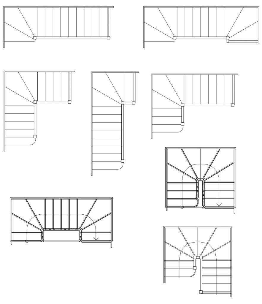 04 Other Stair Layouts