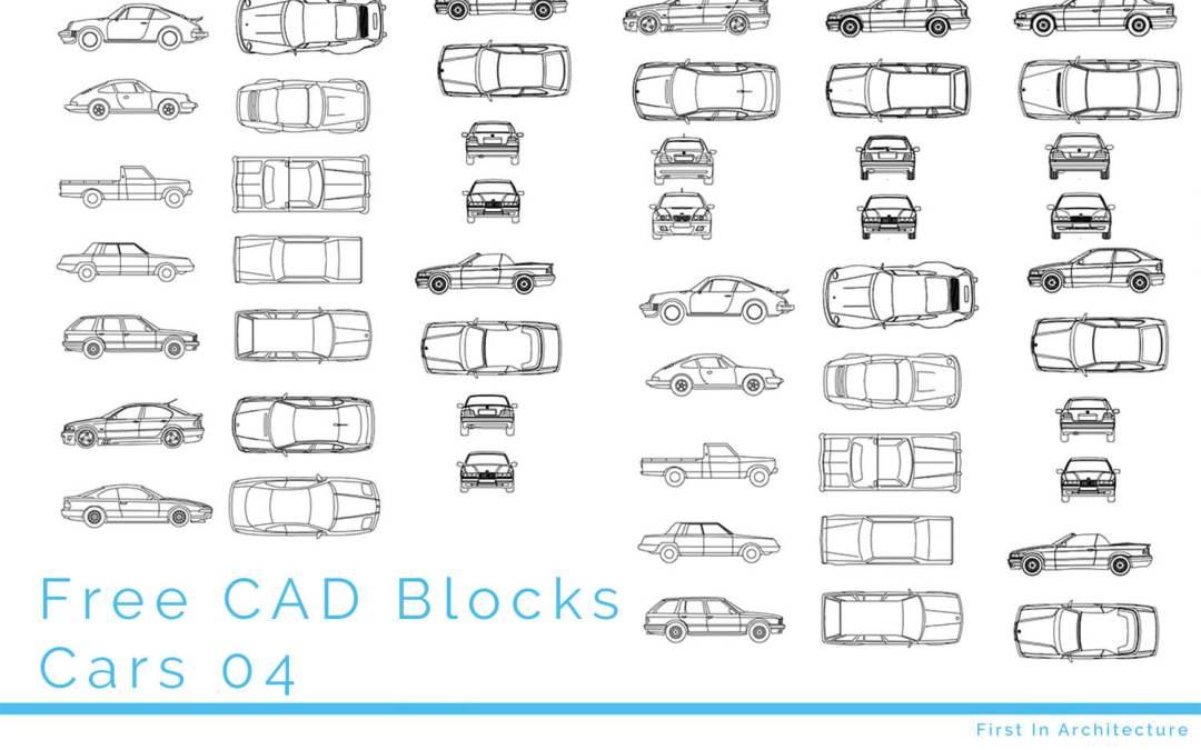 Free CAD Blocks – Cars 04