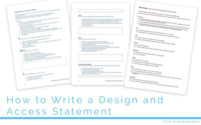 How to Write a Design and Access Statement