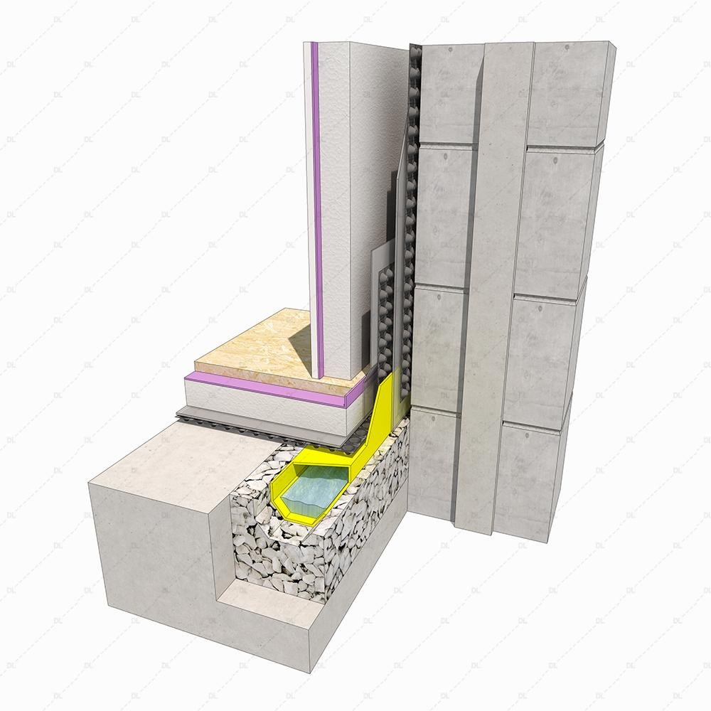B7 Existing Basement Detail thumb 3d