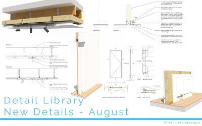 Detail Library – New Details for August