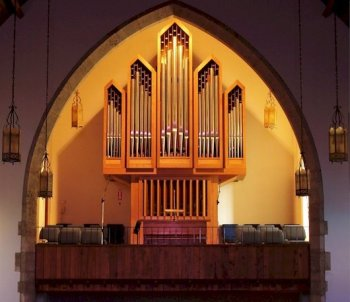 Organ at First Lutheran