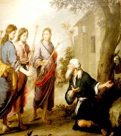 abraham and his guests sunday school # 37