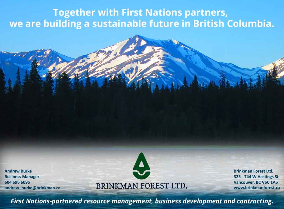 Brinkman Forest Ltd. Contributes to SFU's Executive MBA in Aboriginal Business and Leadership Program