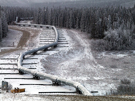 BC landscape is already home to a number of natural gas pipelines and some oil pipelines.