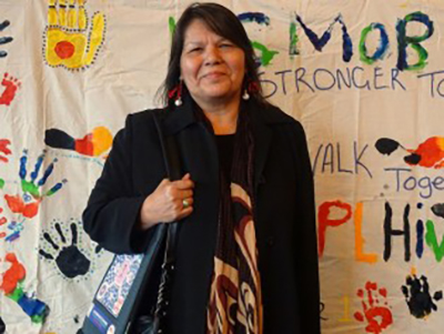Marama Pala ofNew Zealand is the coordinator for the Canadian Aboriginal Aids Network (CAAN).