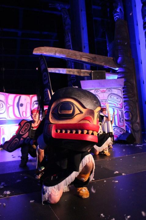 Photo courtesy of Dancers of Damelahamid