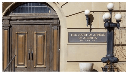 The Court of Appeal Alberta