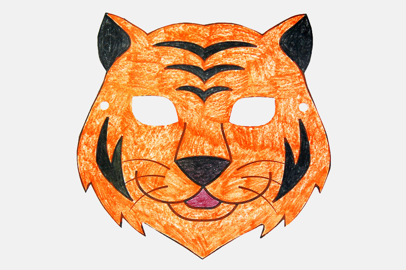 Tiger Mask Free Printable Templates Amp Coloring Pages