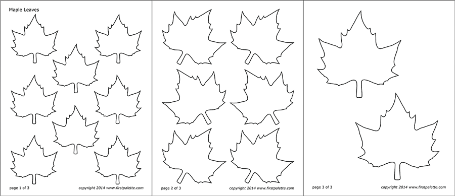 Leaf Templates Free Printable Templates Coloring Pages Firstpalette Com