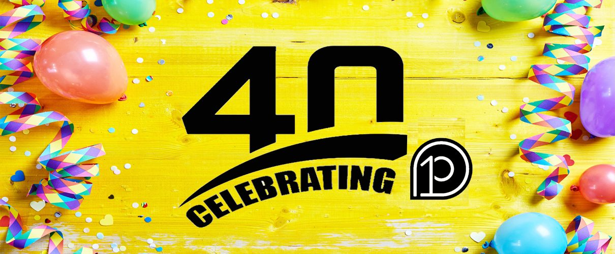 Celebrating 40 Banner Yellow2