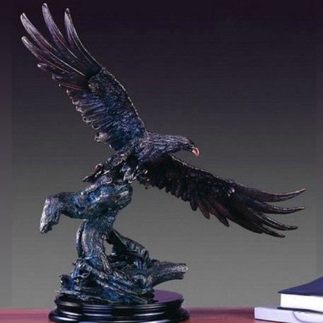 Tesoro Flying Eagle Sculpture -Xlarge